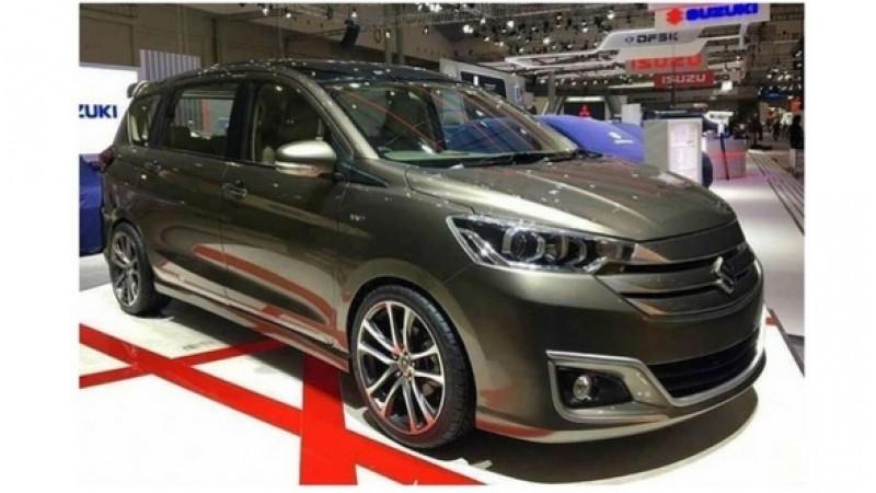 Maruti Suzuki Ertiga concept showcased at GIIAS 2019