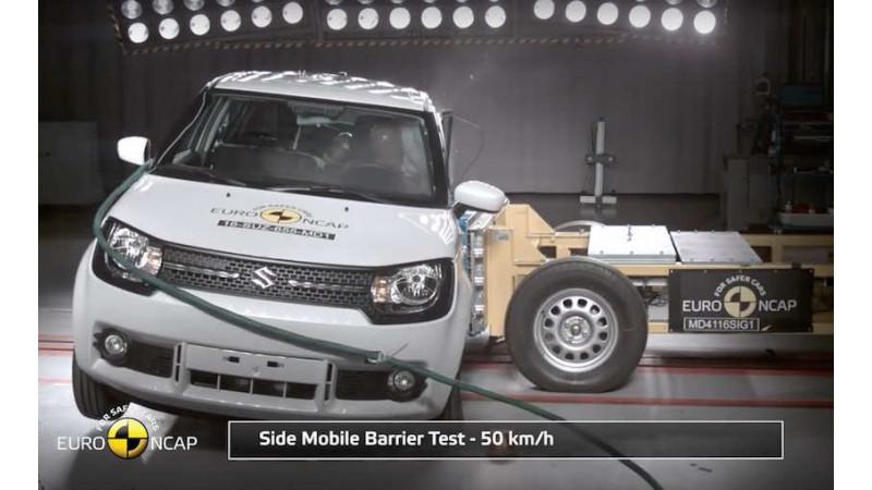 Maruti Suzuki Ignis scores 3-Stars in Euro NCAP