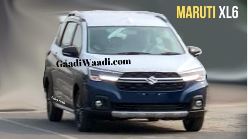 Maruti Suzuki Ertiga based XL6 fascia leaked ahead of unveil next month