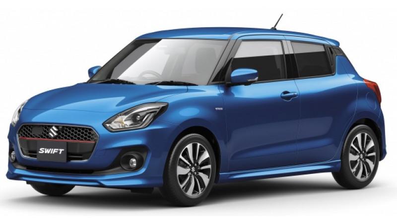 Next generation Suzuki Swift Sport brochure leaked