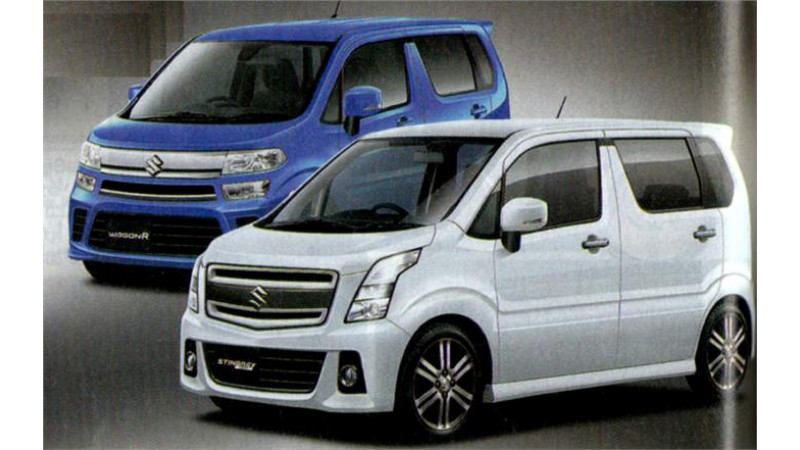 Next-gen Suzuki WagonR and Stingray images surface in Japan