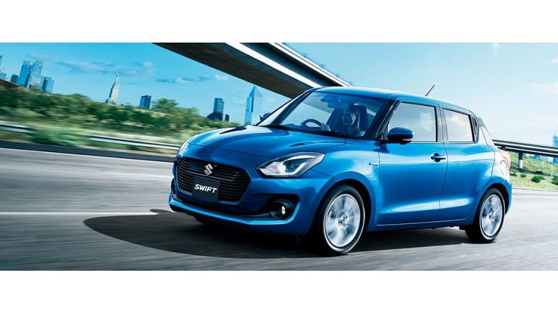 Fourth generation Suzuki Swift revealed in Japan