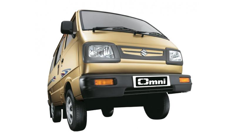 Maruti Van: Unsafe way of school children ferrying?