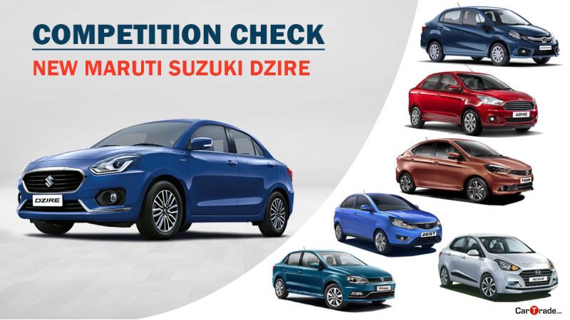 Competition Check: Maruti Suzuki Swift Dzire