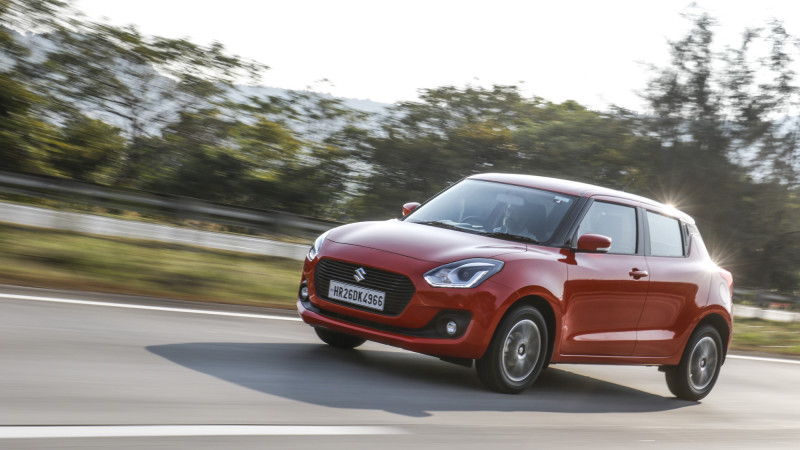 2018 Maruti Suzuki Swift now available with iCreate customisation options