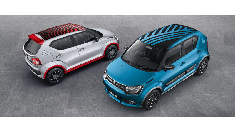 Accessories for Maruti Suzuki Ignis revealed