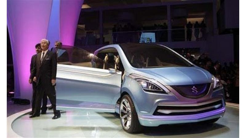 Maruti Suzuki to exhibit 600 cc cars and SUVs at 2012 Auto Expo