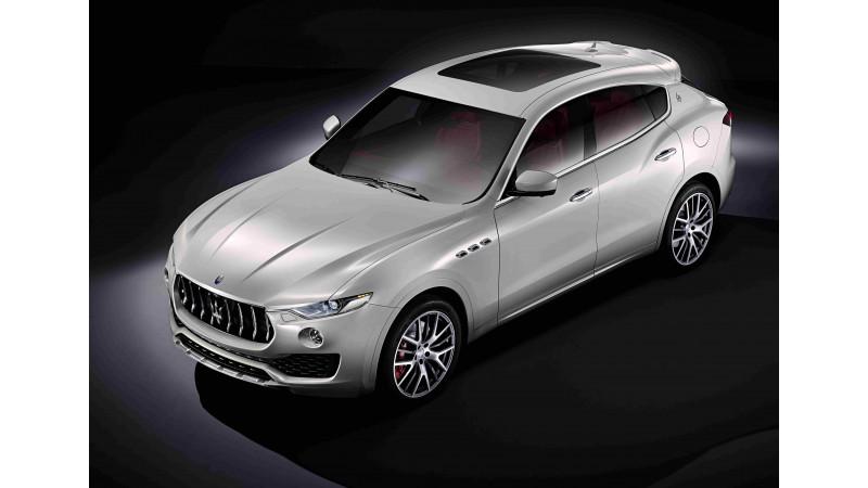 Maserati Levante SUV unveiled in Geneva