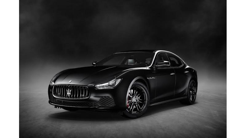 Maserati Ghibli Nerissimo Edition revealed at 2017 New York Auto Show