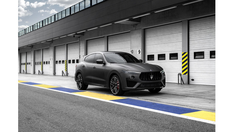 Maserati unveils 2019 Levante Trofeo at 2018 New York Motor show