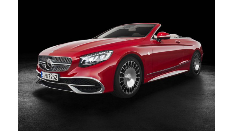 Mercedes-Maybach S650 Cabriolet unveiled in Los Angeles