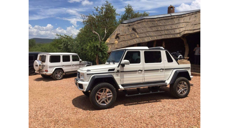 mercedes-maybach g650 landaulet spotted | cartrade
