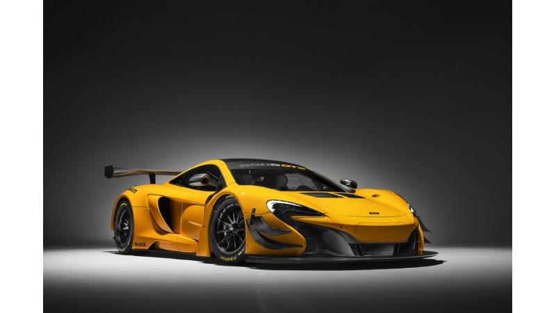 McLaren shows off 650S GT3 ahead of Geneva Motor Show reveal
