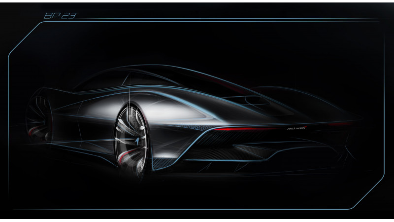McLaren's fastest car ever, the BP23 Hyper-GT teased