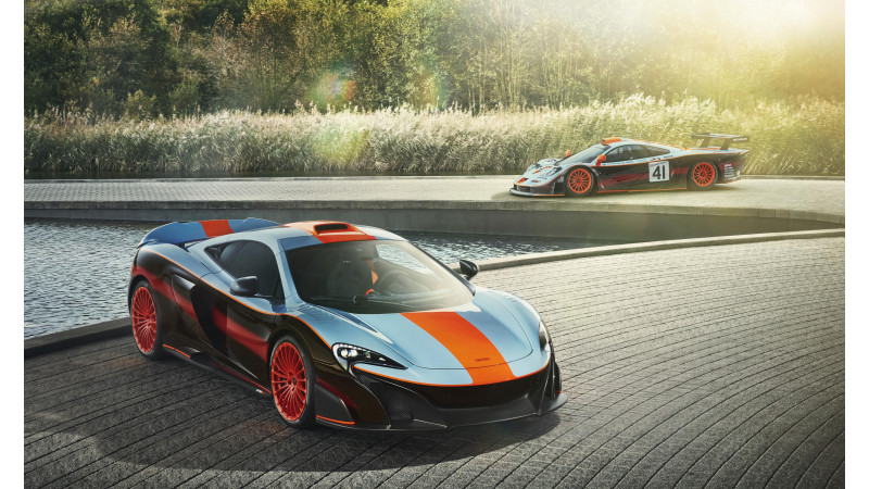 Bespoke version of McLaren 675LT gets F1 GTR 'Longtail' livery