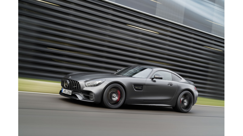 Mercedes-AMG GT C Coupe unveiled at the Detroit Motor Show