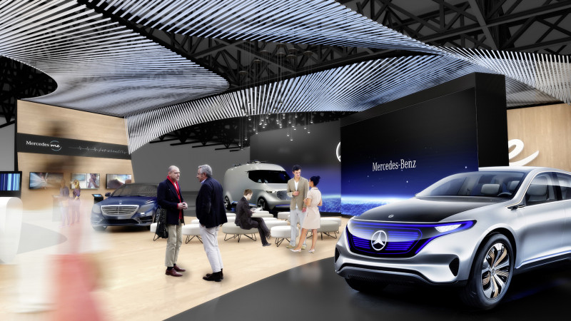 Mercedes-Benz to focus on it's CASE strategy at the 2017 CES