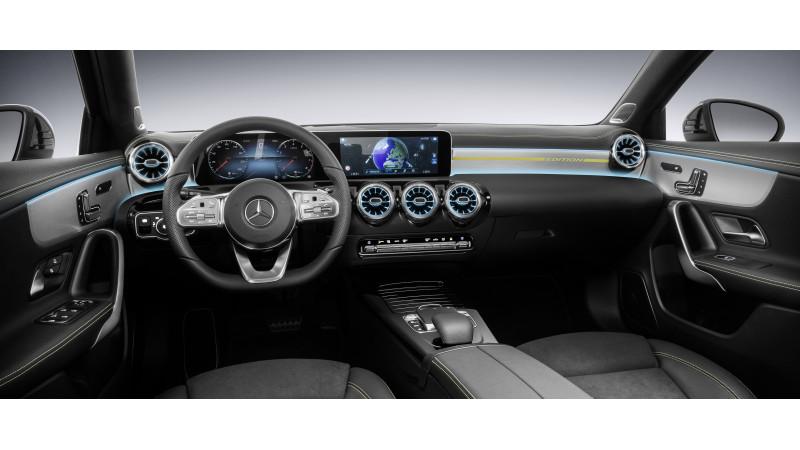 Mercedes-Benz 2018 A-Class interior revealed