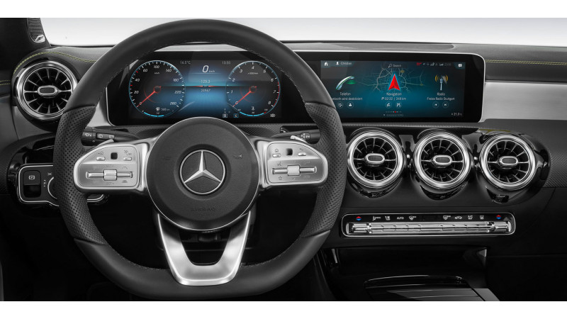 Mercedes-Benz launches MBUX infotainment system