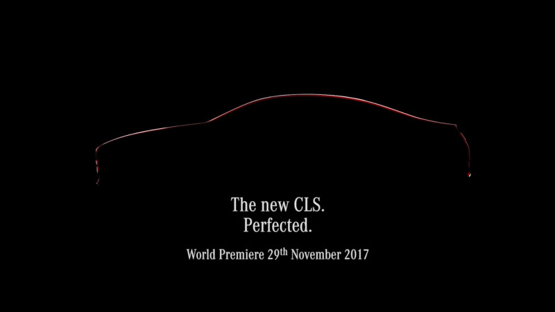 Mercedes-Benz teases the new-gen CLS in a video