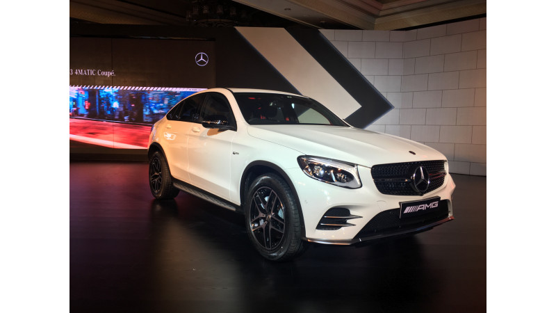 Mercedes-AMG GLC 43 Coupe Introduced in India at Rs 74.80 lakh
