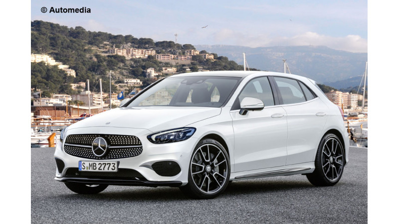2018 Mercedes A-Class gets rendered