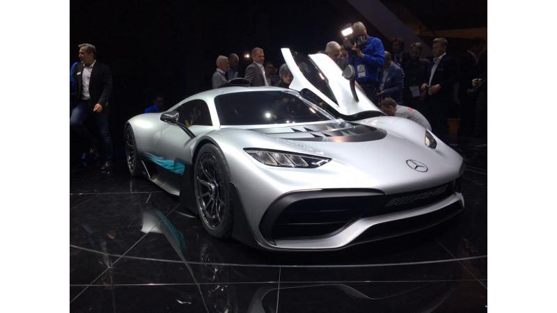 Frankfurt Motor Show 2017: Mercedes-AMG Project One hypercar revealed