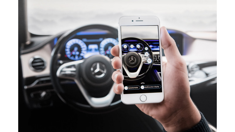 User manuals to be outdated soon with Mercedes-Benz app