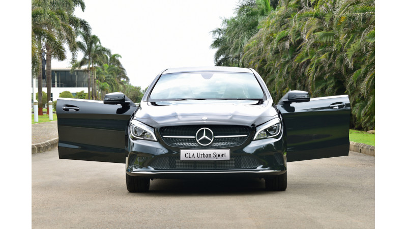 Mercedes-Benz CLA Urban Sport introduced in India for Rs 35.99 lakhs