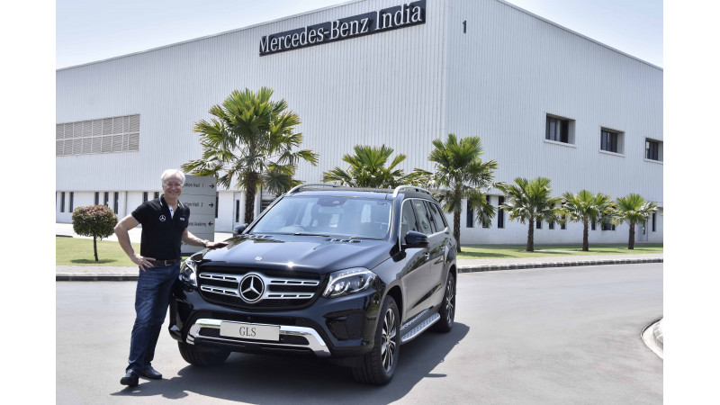 Mercedes-Benz launched the new GLS Grand Edition in India at Rs 86.90 lakhs