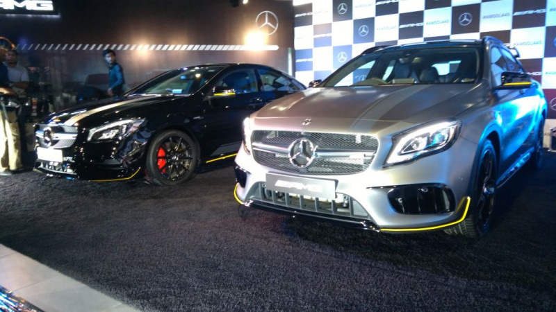 Mercedes-AMG launches CLA 45 and GLA 45 in India at Rs 75.20 lakhs and Rs 78.5 lakhs