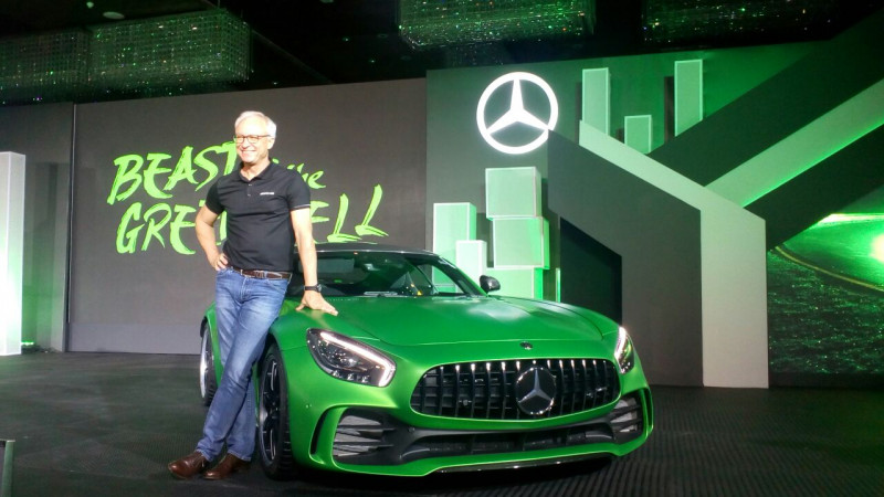 Mercedes-Benz AMG GT-R now available in India at Rs 2.23 crore