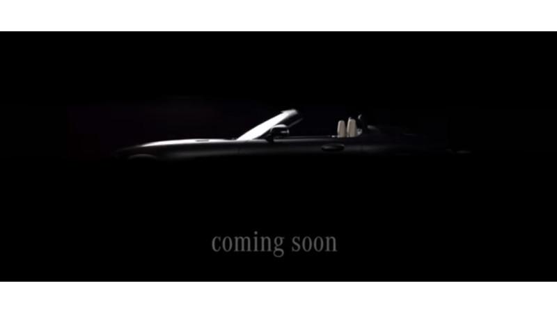Mercedes AMG GT roadster teased