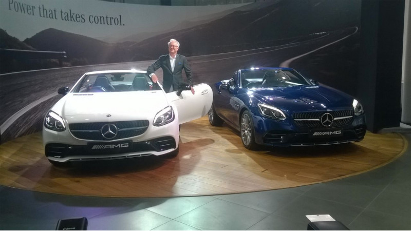 Mercedes-AMG SLC 43 launched at Rs 77.5 lakh