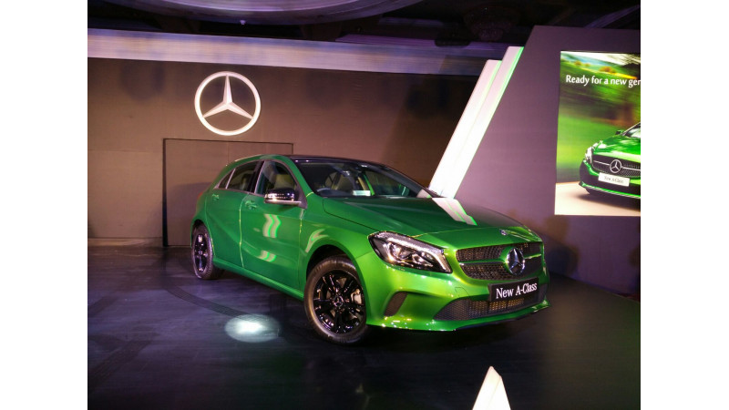 Mercedes-Benz A-Class facelift launched for Rs 24.95 lakh