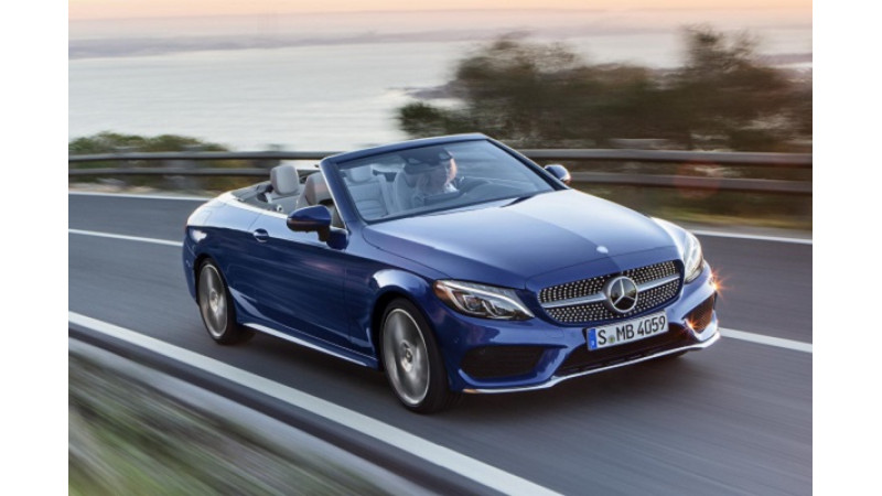Mercedes C300 Cabriolet launch later this year