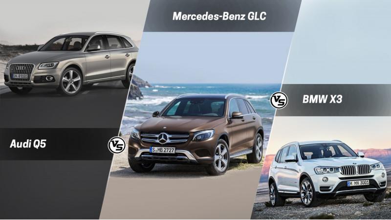 Spec Comparo Mercedes Benz Glc Vs Audi Q5 Vs Bmw X3
