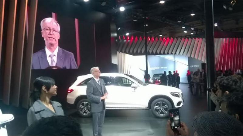 2016 Auto Expo: Mercedes-Benz GLC unveiled