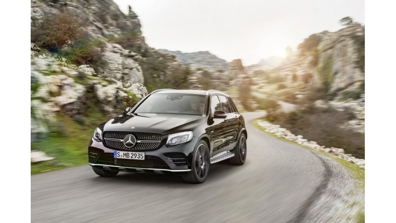Mercedes-Benz GLC43AMG revealed