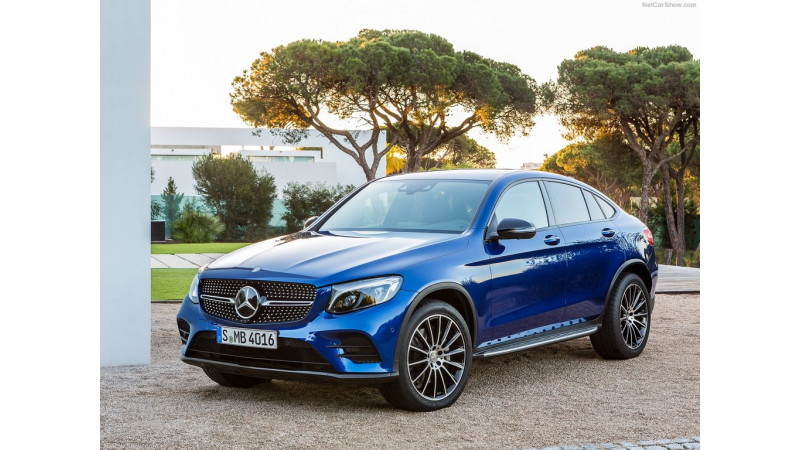 Mercedes-Benz GLC Coupe unveiled