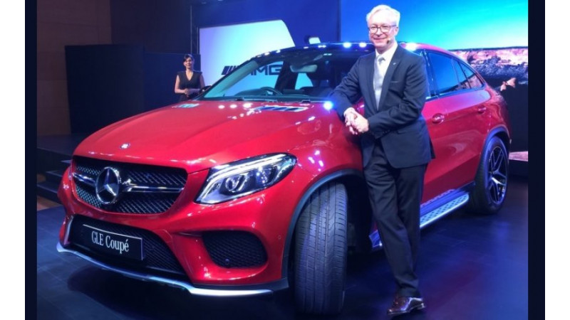 Mercedes-Benz GLE 450 AMG Coupe launched in India for Rs 86.4 Lakh