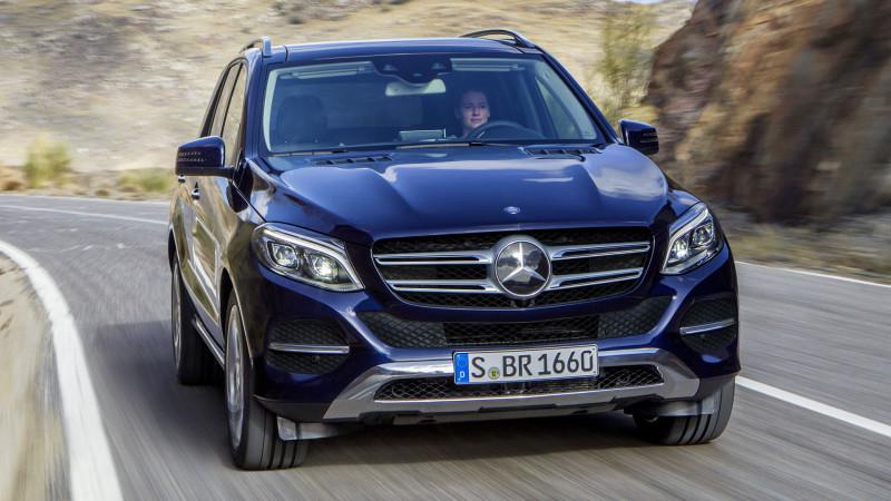 Mercedes-Benz GLE400 imported for homologation