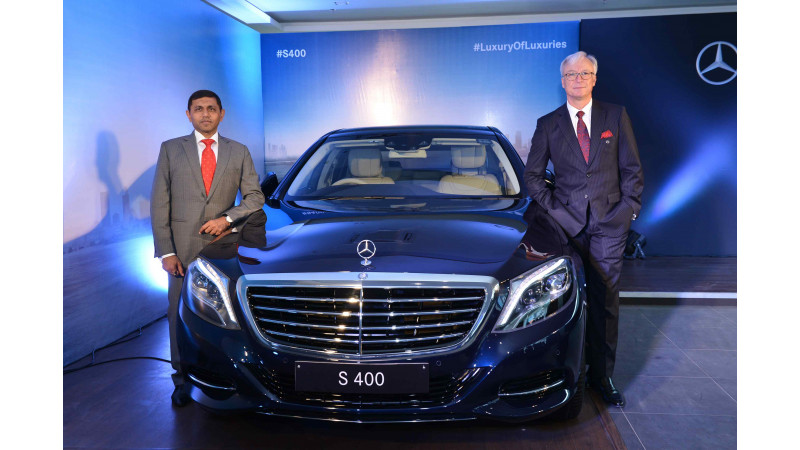 Mercedes-Benz S400 launched at Rs 1.28 crore