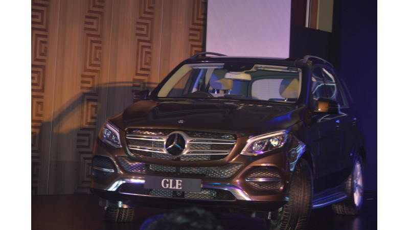 Mercedes-Benz launches the GLE-Class