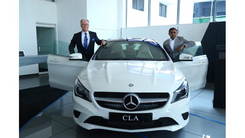 Mercedes-Benz opens a new dealership in Vijayawada