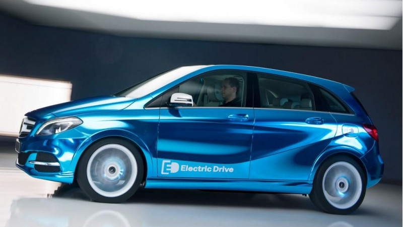Mercedes-Benz registers electric vehicle names for its upcoming range