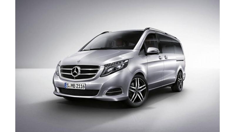 Mercedes-Benz unveils V Class MPV