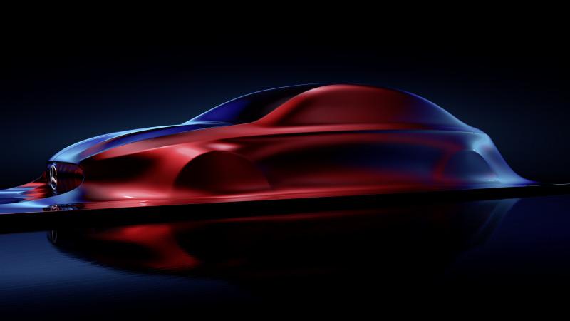Mercedes Benz teases their future compact saloon design