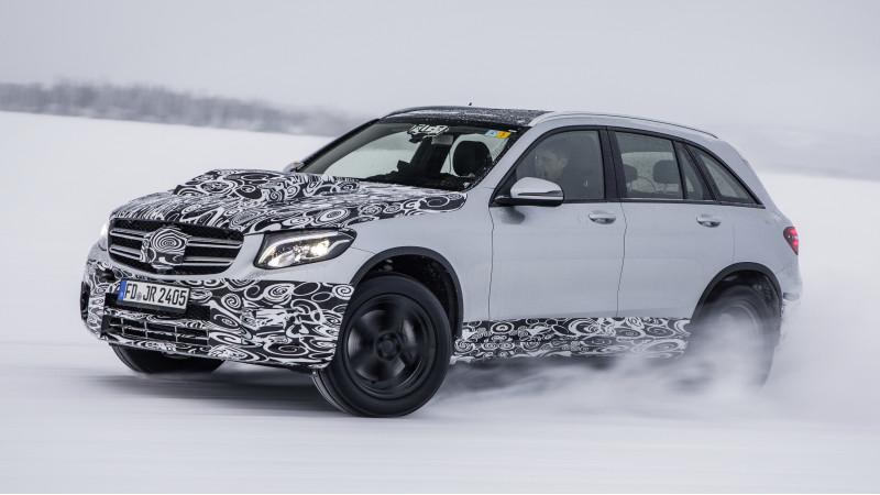 Mercedes GLC F-Cell development previewed before 2017 Frankfurt Motor Show