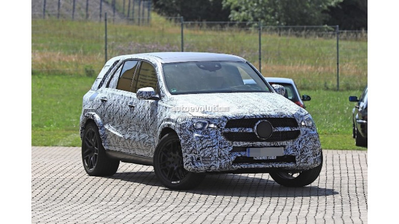 2019 Mercedes-AMG GLE 63 spotted testing